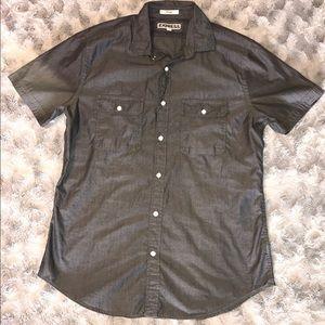 Men's Button Up Short Sleeve